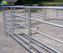 portable cattle yard panel fence side panel of livestock trailer
