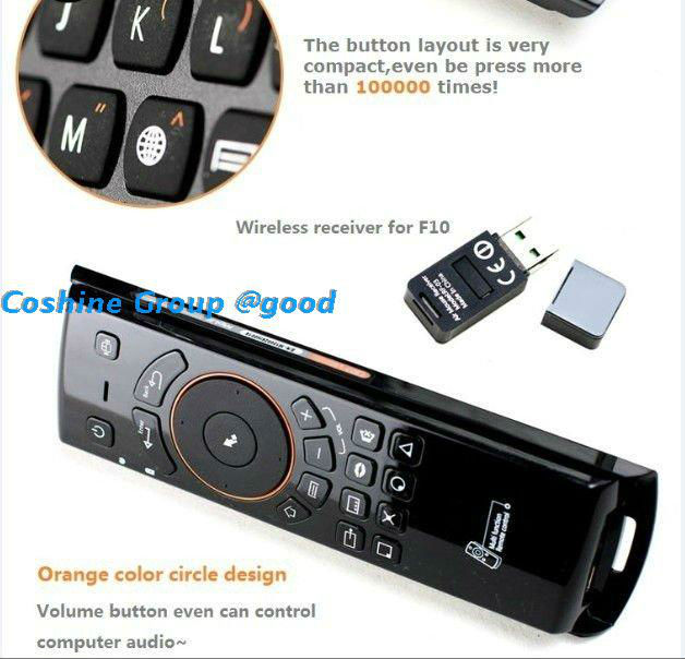 Brand MELE Fly Air Mouse+wilress Keyboard + TV Remote Control For Andriod TV PC