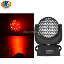 High quality 108*3W Newly dj stage equipment LED RGBW color sharpy Moving Head wash DMX512 Control Light