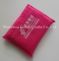 Polyester foldable shopping bag, polyester vest bag