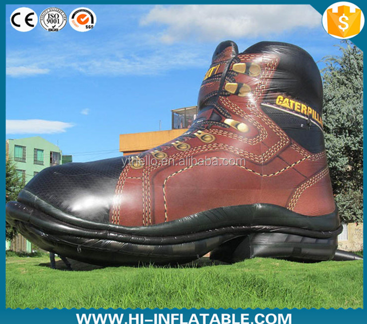 Hot sale Advertising inflatable replica shoe for propaganda