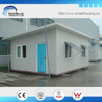 Foldable movable portable house