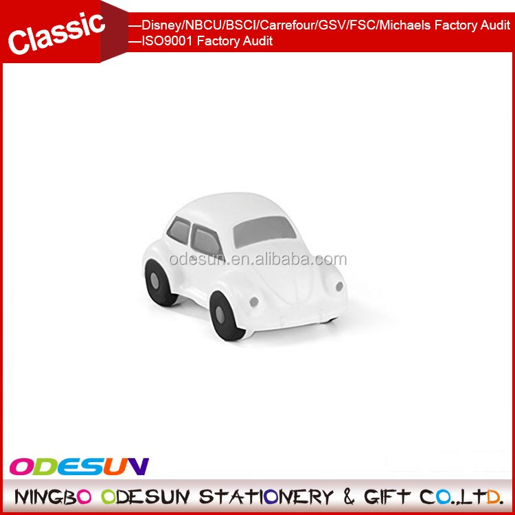 Universal NBCU FAMA BSCI GSV Carrefour Factory Audit Manufacturer promotional white anti stress car toy