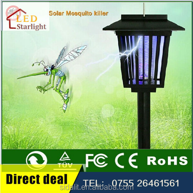 SIK-001 wholesale cheap solar insect attraction lamp
