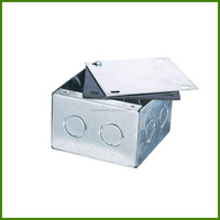 electric welded box with cover and rubber gasket