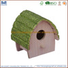 new design natural color bird house & bird feeder & bird cage