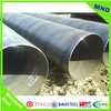 ASTM gas oil transport steel tube with Mild Carbon Spiral Welded Steel Pipe