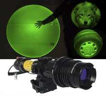 Military rifle low temperature 100mw green laser designator for night vision hunting