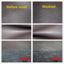 Fabric washable leather pu leather for clothes