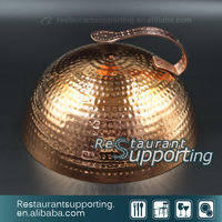 Restaurant Kitchen Plate Cover Copper Plate Cover For Teppanyaki