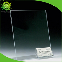 A4 Acrylic / Perspex Menu Holders / Poster Leaflet Sign Display Stand