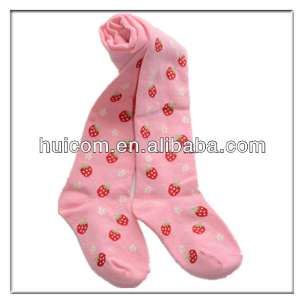 Baby bowknot pantyhose pure color cotton infant children gears pantyhose/ballet socks/render socks