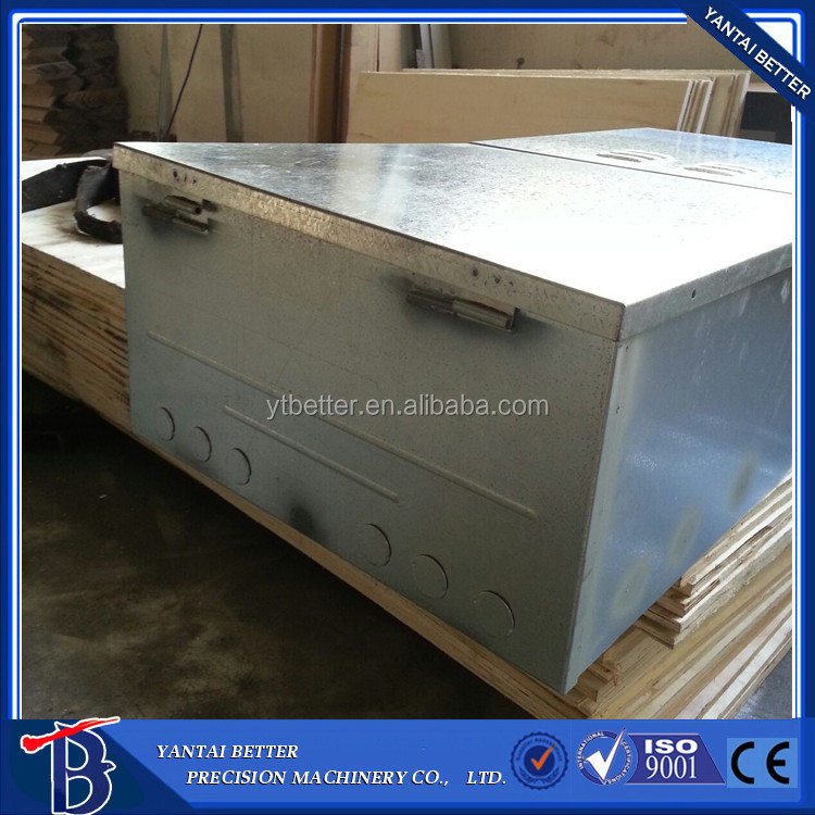 Factory direct offer Metal fabrication Aluminum case / Aluminium parts