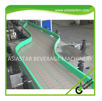 China conveying equipment belt conveyor used for mineral water bottle transfer