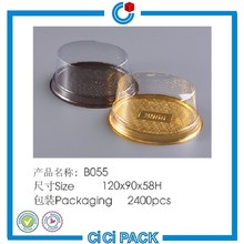China supplier PP PET material cake roll boxes packaging wholesale