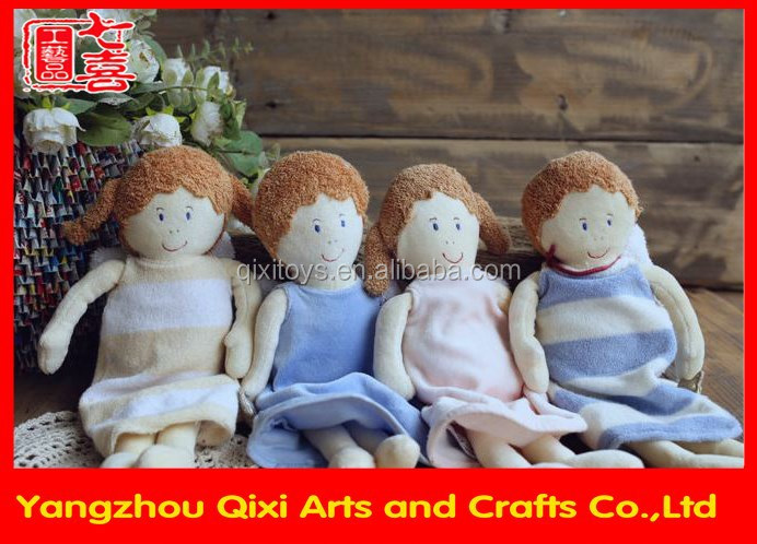 Best selling lovely kids human doll plush toys baby dolls baby toy for girls