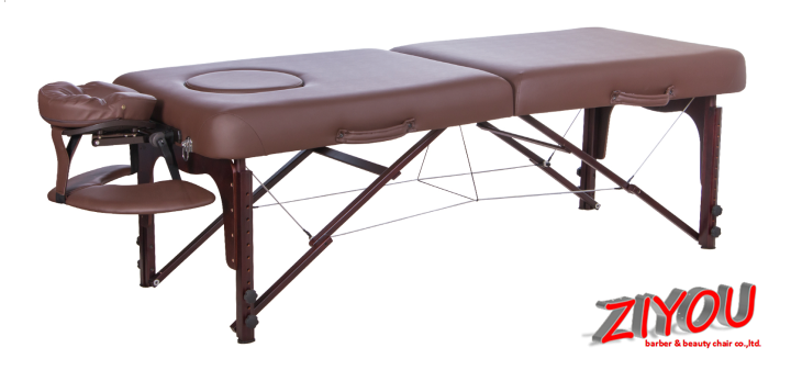 Portable massage bed folding facial bed with strong structure