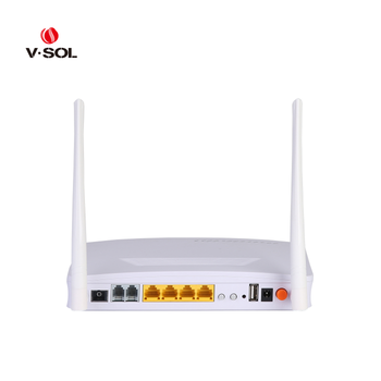 4GE+2POTS+WiFi+USB GPON ONT Fully compatible with HUAWEI/ZTE/Fiberhome/DASAN OLT