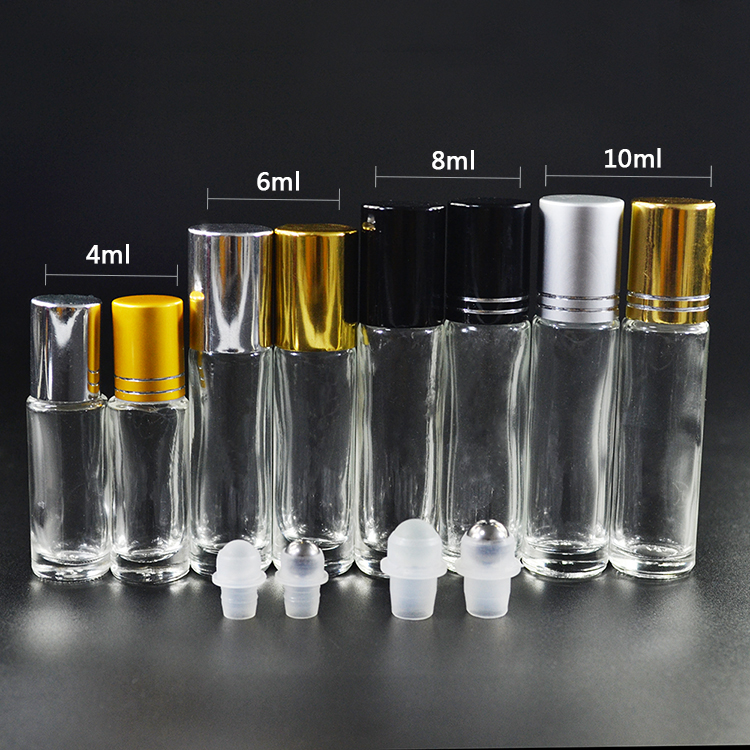Top supplier high quality perfume glass roller bottle 10ml for essential oil wholesale Australia