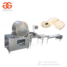 Hot Selling Square Round Spring Roll Samosa Sheet Dough Making Production Line Lumpia Wrapper Machine
