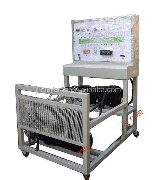 Test bench for electronically controlled gasoline engine with automatic transmission