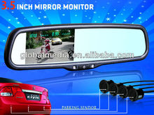 OEM replacement 3.5 inch rearview mirror lcd monitor special for CHEVROLET FORD FIAT Renault Fluence