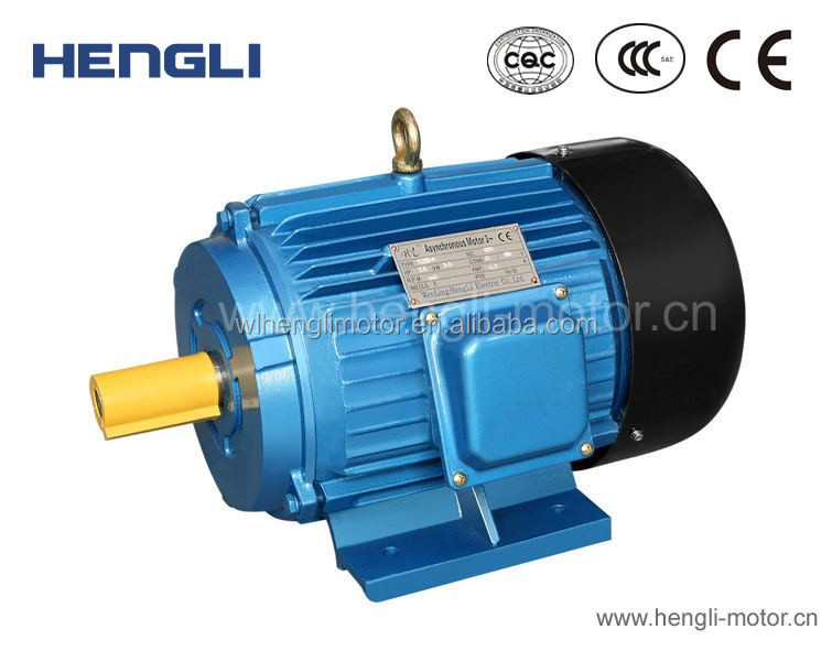 Y Cast Iron Copper Wire Cold Rolling Sheet Three Phase Small Ac Electric Induction Motor
