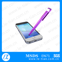 PB-124 Fashion Customized Logo Touch Pen Plastic Screen Pen for Mobile Phone
