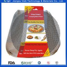 "Grilling Mesh - Non-stick Grill Mesh ""Rollable"" Cooking Pan - Dishwasher safe... fries oven mesh crisper tray"