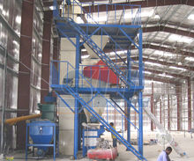 Sand cement mixing machine with dryer machine