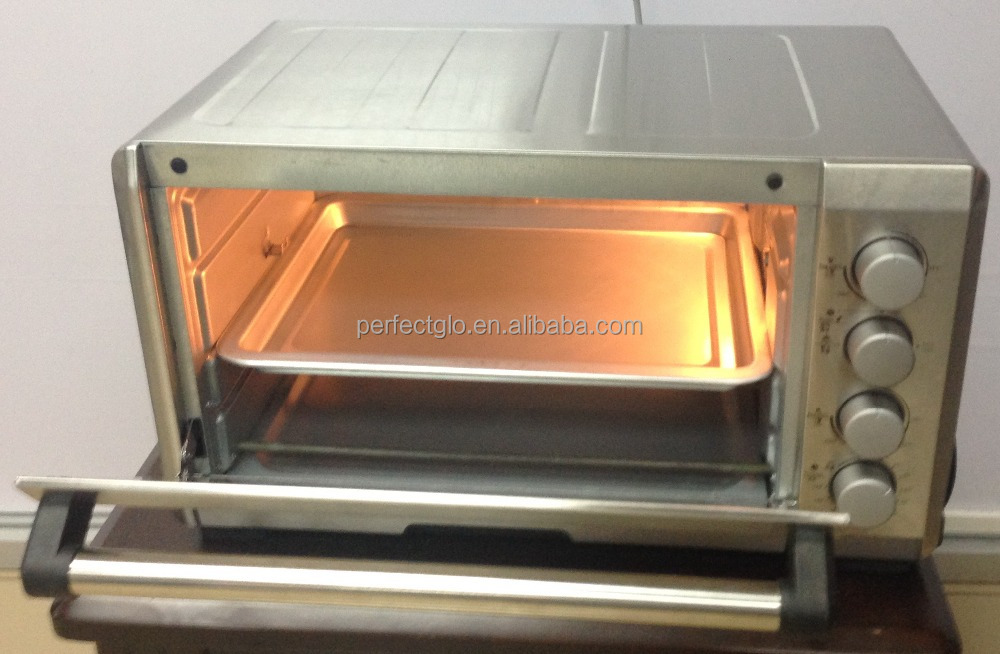 SS Mechanical Timer Control Electric oven