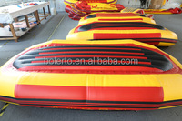 Entertainment ice inflatable rafting boat