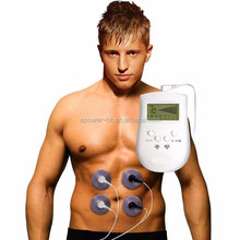 Pulse Vibrating Relax Slimming Body Shaper Massager, Portable Electric Muscle Stimulator EMS Fitness Machine