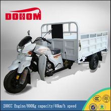 Heavy Loading 200CC Engine Electric Three Wheel Motorcycle