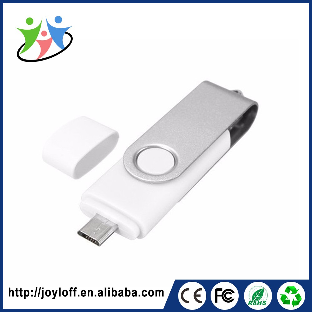Bussiness Gift Dual Double Plug Interface Otg Pc Good Quality Wholesale Microphone Usb Stick