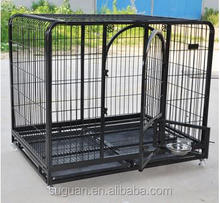 China Factory Whoesle metal wire pet cage dog crate