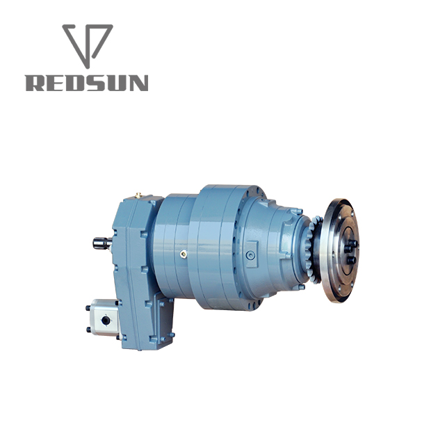 REDSUN P series high precision 90 degree planetary reduction gearbox for crane