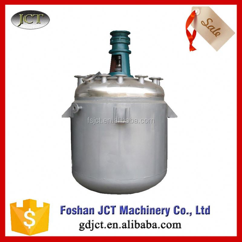 Reactor for cement glue