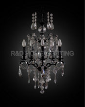 most popular european style plastic crystal chandeliers