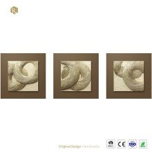 Abstract Sculpture Home Decor 3d Wall Art Hanging Painting For Wholesale