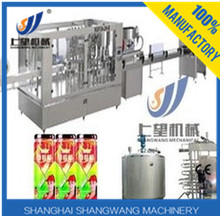 Full automatic tomato juice bottle machine/ fresh fruit production line/Little tomato paste making equipment