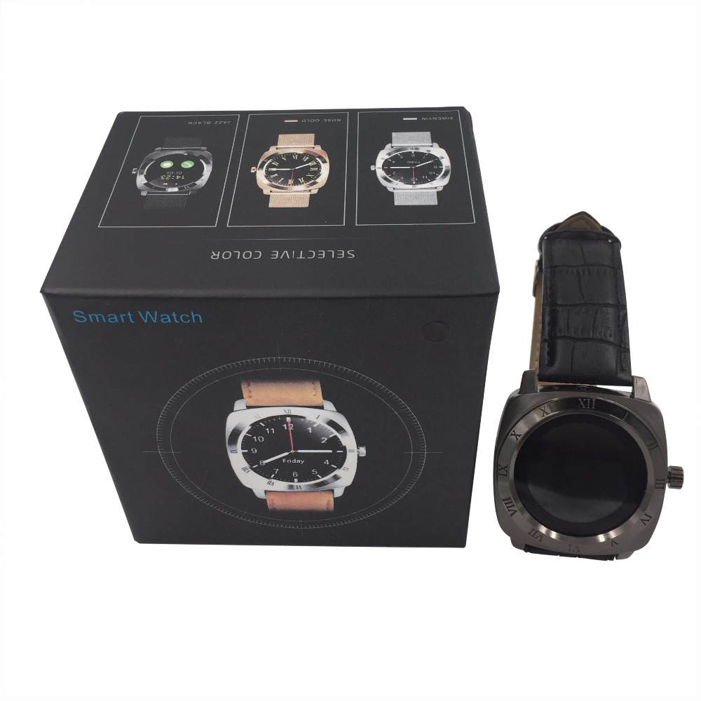 Great Oem design with packing Android Rotatable Bluetooth MP3 Touch Screen Smart watch