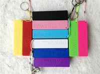 power bank 2600mah mobile power supply with keychain perfume portable charger