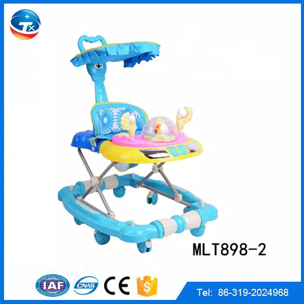 High quality toddler walker factory direct sale foldable learning to walk helper baby walker