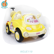 WDJE119 China Factory Wholesale Kids Push Car Plastic Ride On Baby Toy Car