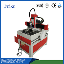 China popular Feike 6090 wood router machine / mini cnc router / 5 axis cnc machine