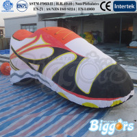 Giant Inflatable Shoes Model Advertisement For Commodity Promotion