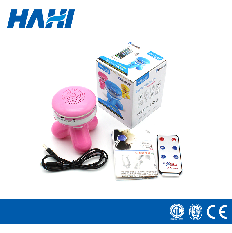 good quality vibration massager body massager with bluetooth speaker
