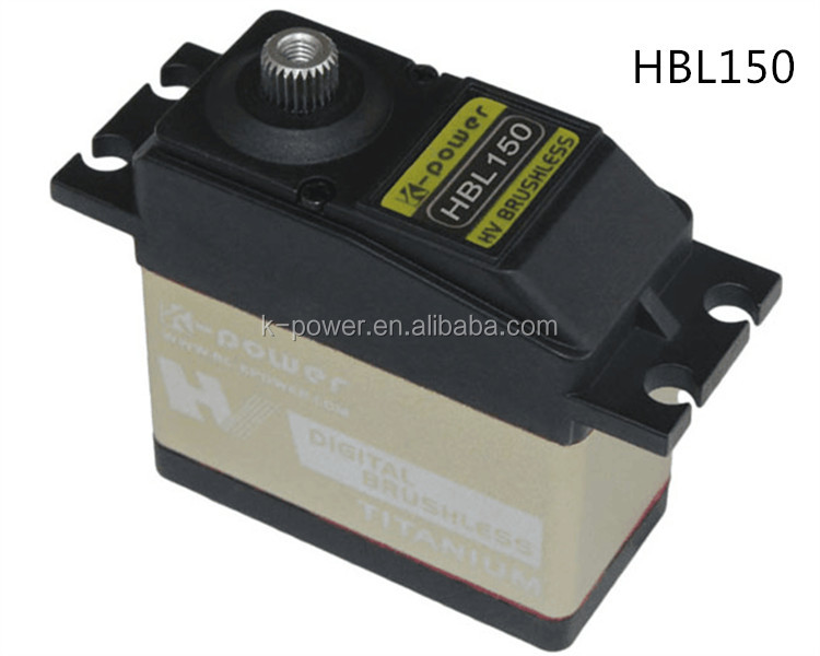 HBL150 High voltage brushless motor servo/aluminum mid case servo for rc toys/electric servo for helicopter