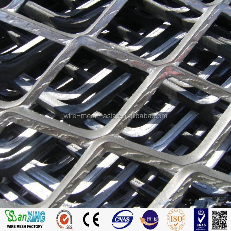 Diamond pattern expanded metal mesh/expanded wire mesh diamond mesh